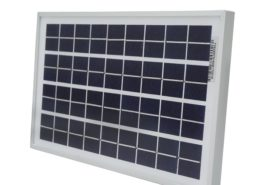 10 Watt 12 Volt Polycrystalline Solar Panel with High-Efficiency Solar Cells