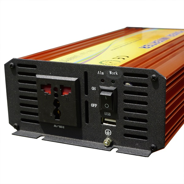 1KW Off Grid Pure Sine Wave Inverter 12V To 110V220V-1