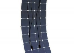 100W 12V Bendable Lightweight Thin Monocrystalline Flexible Solar Panel