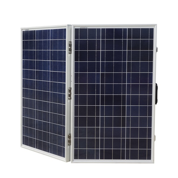 120W 12V Portable Polycrystalline Folding Solar Panel