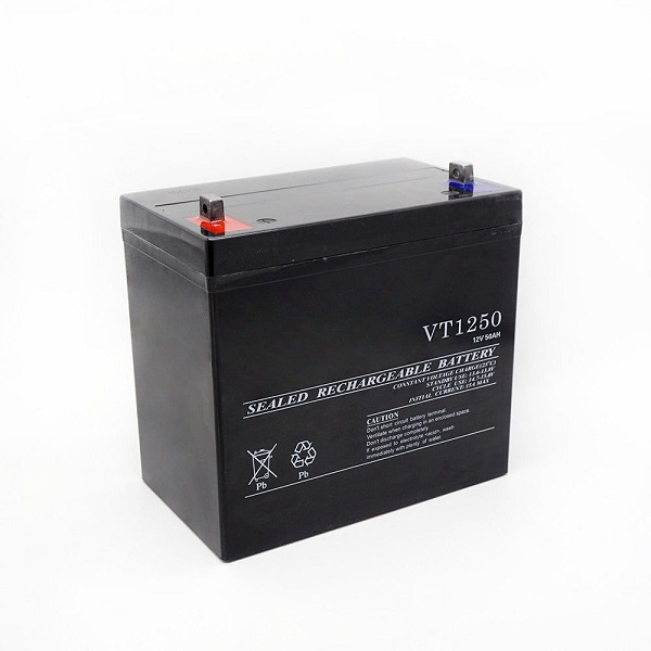 12V 50Ah Sealed Lead Acid Deep Cycle Battery For Solar Wind Off Grid Power-1