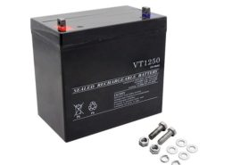 12V 50Ah Sealed Lead Acid Deep Cycle Battery For Solar Wind Off Grid Power