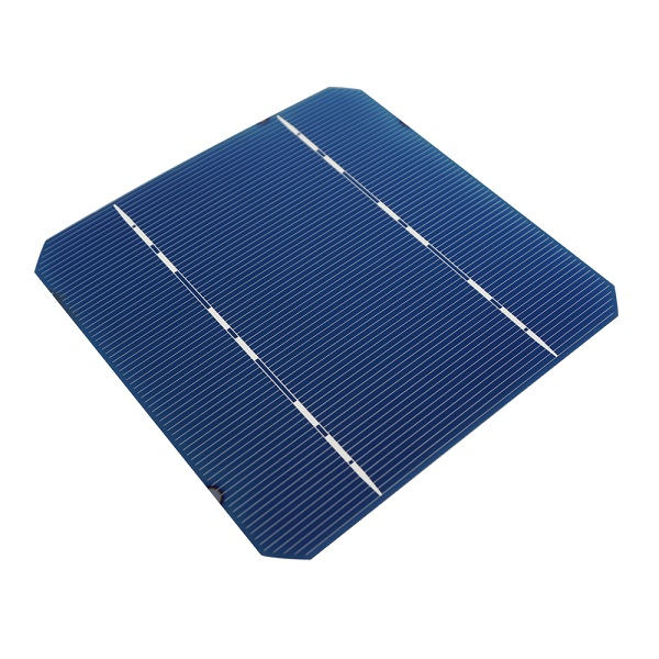 2.6W-Cell 5x5 (125mmx125mm) Monocrystalline Solar Cell for DIY Solar Panel