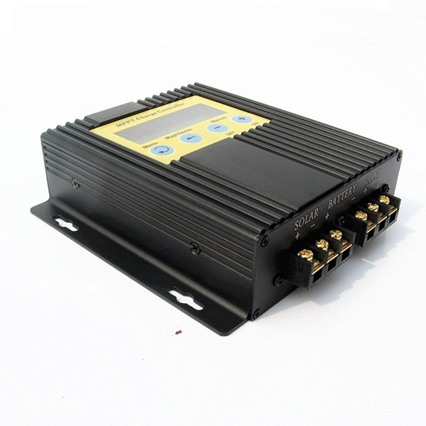 20A MPPT Solar Charge Controller 12V-24V with LCD Display, Timer and Light Sensor-1