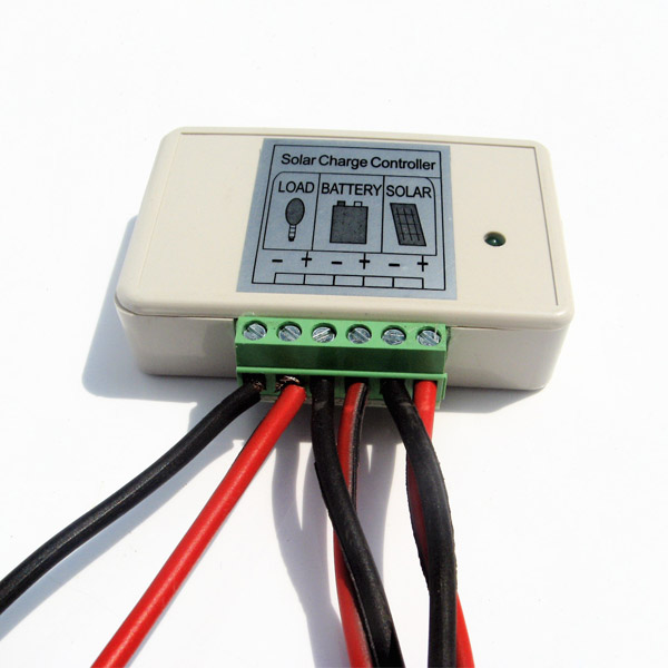 3A PWM Solar Panel Charge Controller 12V-24V Battery Regulator-2