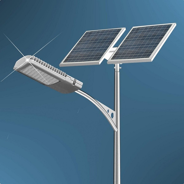 40 Watt Solar LED Street Light Completed System