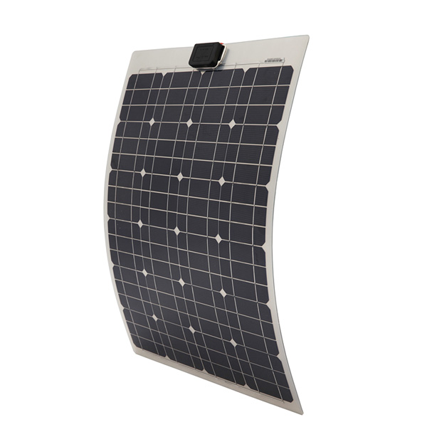 40W Semi-Flexible Monocrystalline Solar Panel
