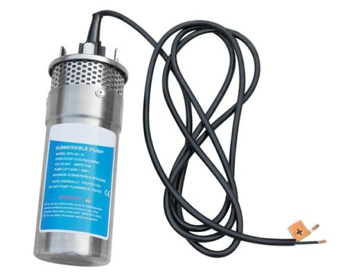 DC 24V Stainless Steel Submersible Deep Well Solar Water Pump for Farm Ranch