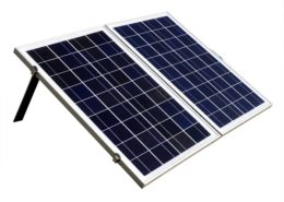 Wholesale 50W 12V Foldable Polycrystalline Solar Panel Kit
