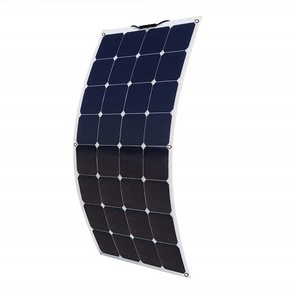 100W 12V Bendable Lightweight Thin Monocrystalline Flexible Solar Panel-1