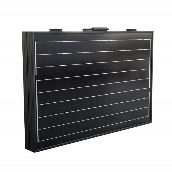 100W 12V Off-Grid Monocrystalline Portable Folding Solar Panel Suitcase-1