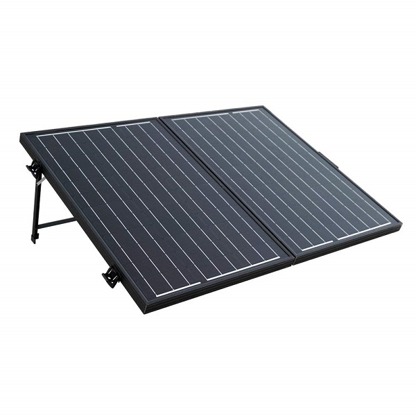 100W 12V Off-Grid Monocrystalline Portable Folding Solar Panel Suitcase