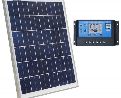 20W 12V Polycrystalline PV Solar Panel Kit with 20 Amp PWM Charge Controller