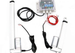 Dual Axis Solar Tracking System with 12V Linear Actuator & Track Controller Kit