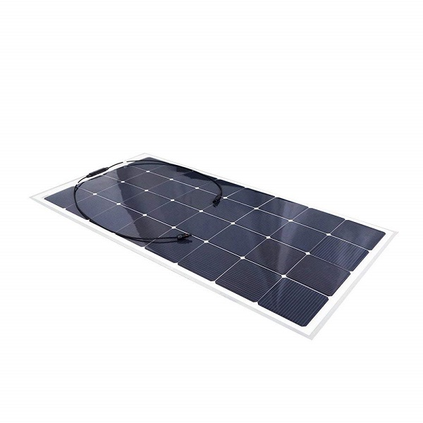 160W 12V Monocrystalline Flexible Lightweight Ultra Thin Solar Panel Charger with MC4