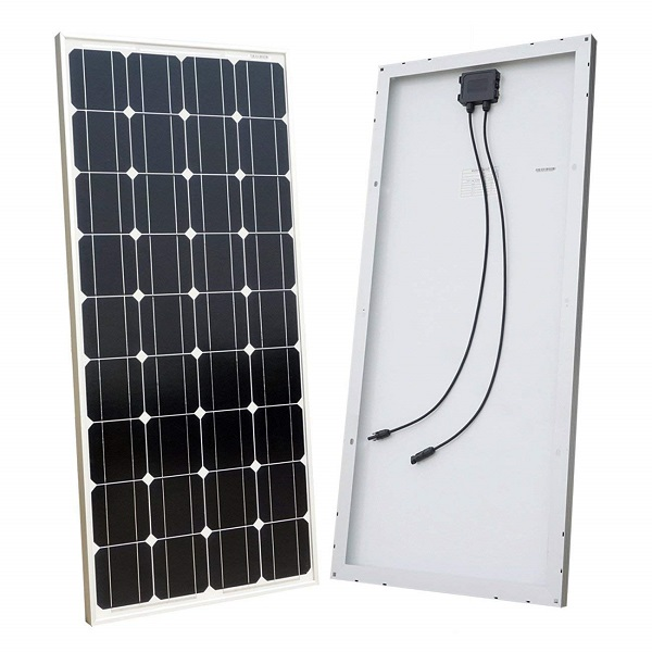 100 Watt 12V Off-Grid Monocrystalline Solar Panel Kit for RV Boat Camping