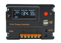 20A Solar Charge Controller Solar Panel Battery Intelligent Regulato (5)