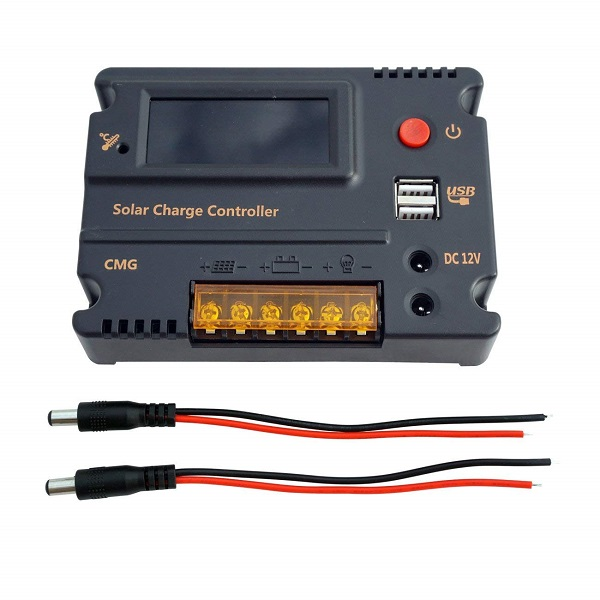 20A Solar Charge Controller Solar Panel Battery Intelligent Regulato